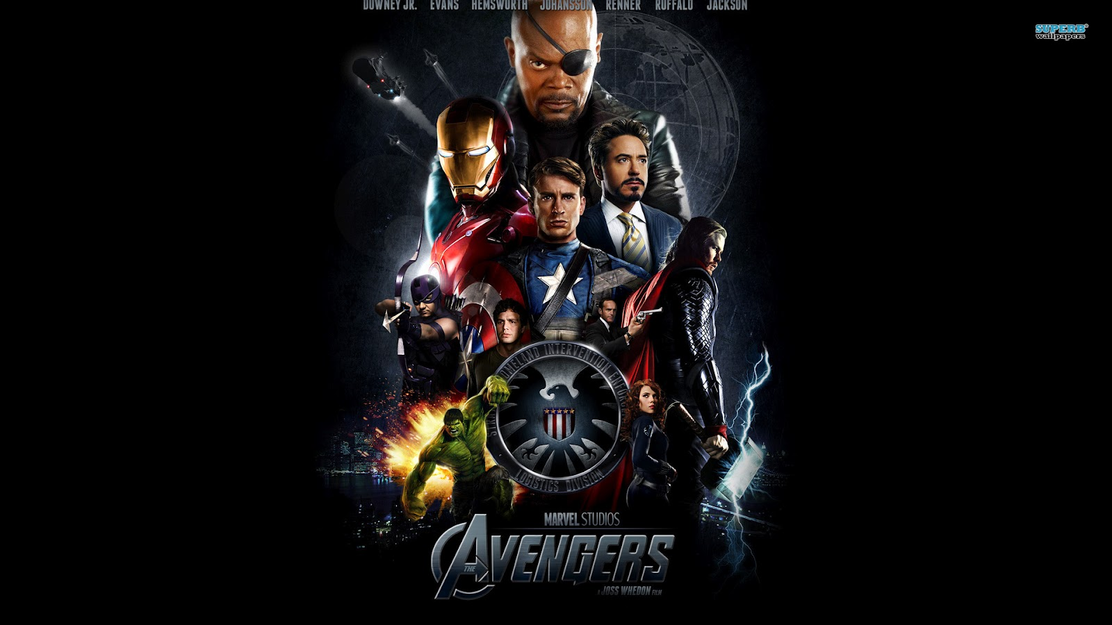Hd Wallpapers The Avengers 1600x900