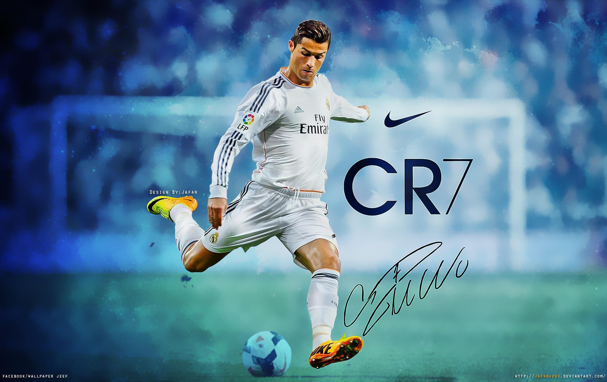 Cristiano Ronaldo wallpaper by Jafarjeef written by Cristiano Ronaldo 2048x1291