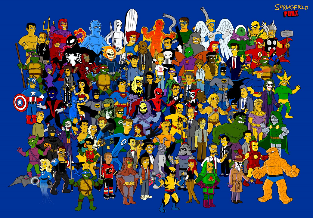 super heroes wallpapers 1040x725