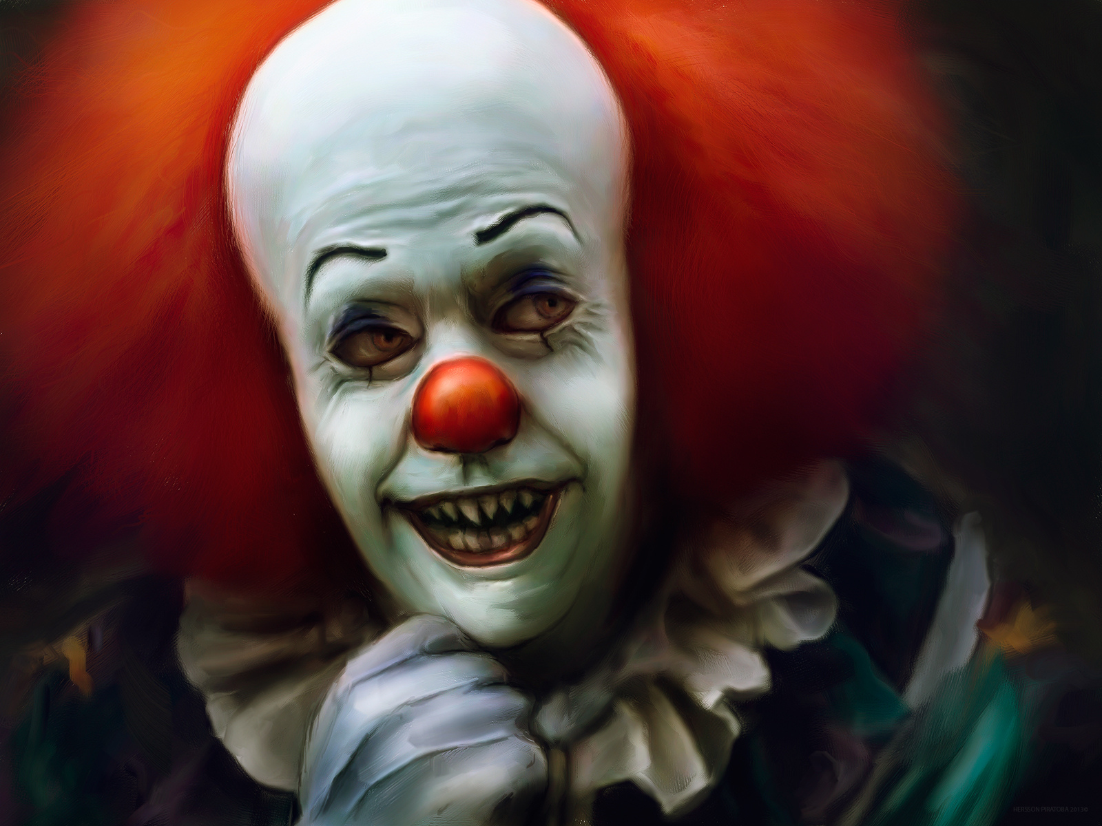 Pennywise The Clown 1990wallpaper: Pennywise The Clown Wallpaper
