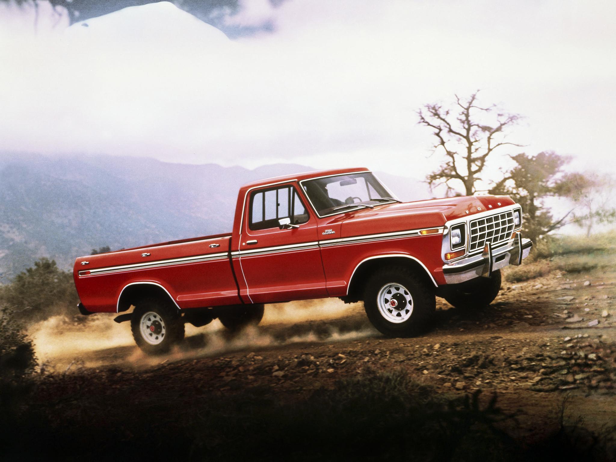 1979 Ford F 150 Ranger 4x4 pickup wallpaper background 2048x1536