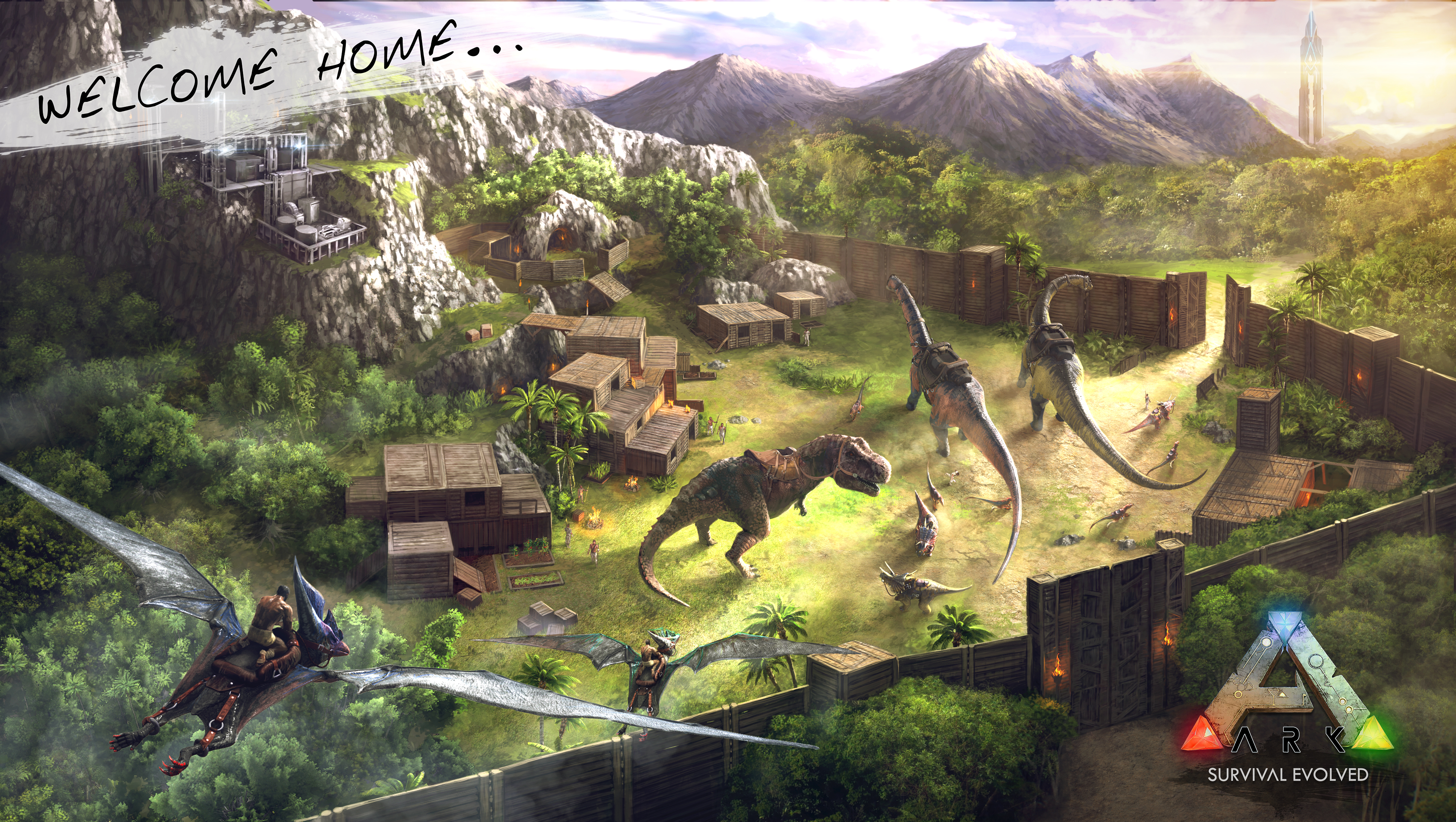 Steam Workshop Ark Dinotopia PVE 3840x2170