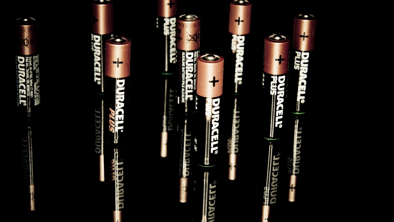 Wallpaper Duracell battery 2560x1600 HD Picture Image 1366x768