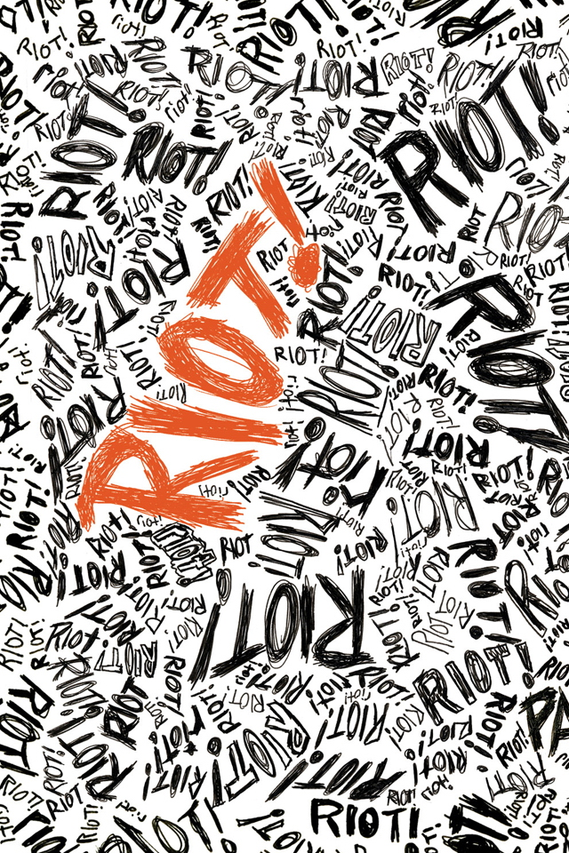 paramore riot iPhone 4 Wallpaper, Music Background, Picture, Image ...