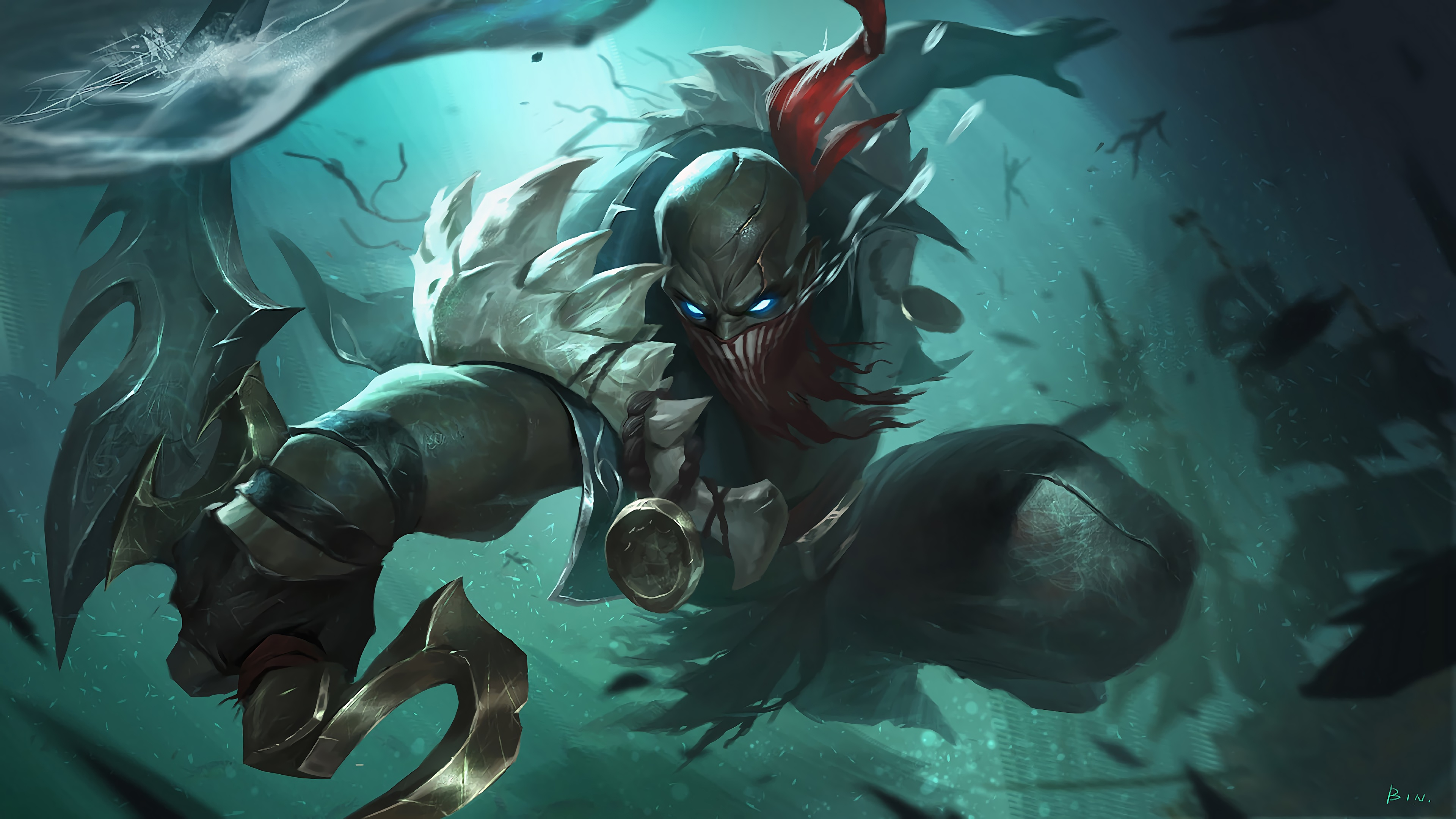 Free Download Pyke Lol League Of Legends 4k 15772 3840x2160 For