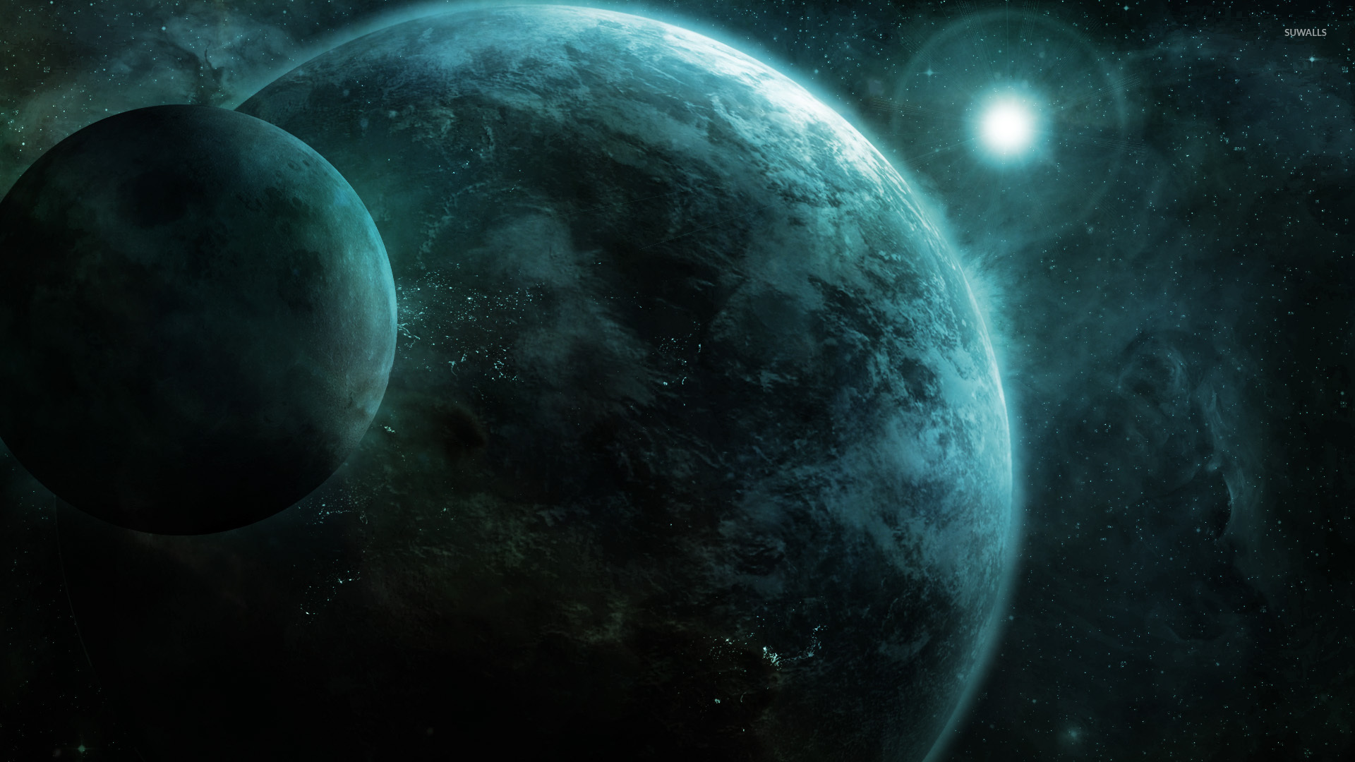Planets wallpaper   Fantasy wallpapers   7084 1280x800