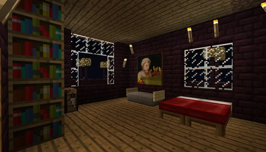 Minecraft Nikolas Bedroom by MineCrapCreators 900x515