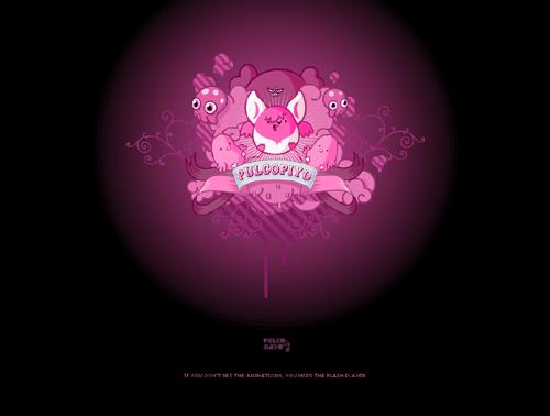 Cute Black And Pink Wallpaper 6 Widescreen Wallpaper 500x378