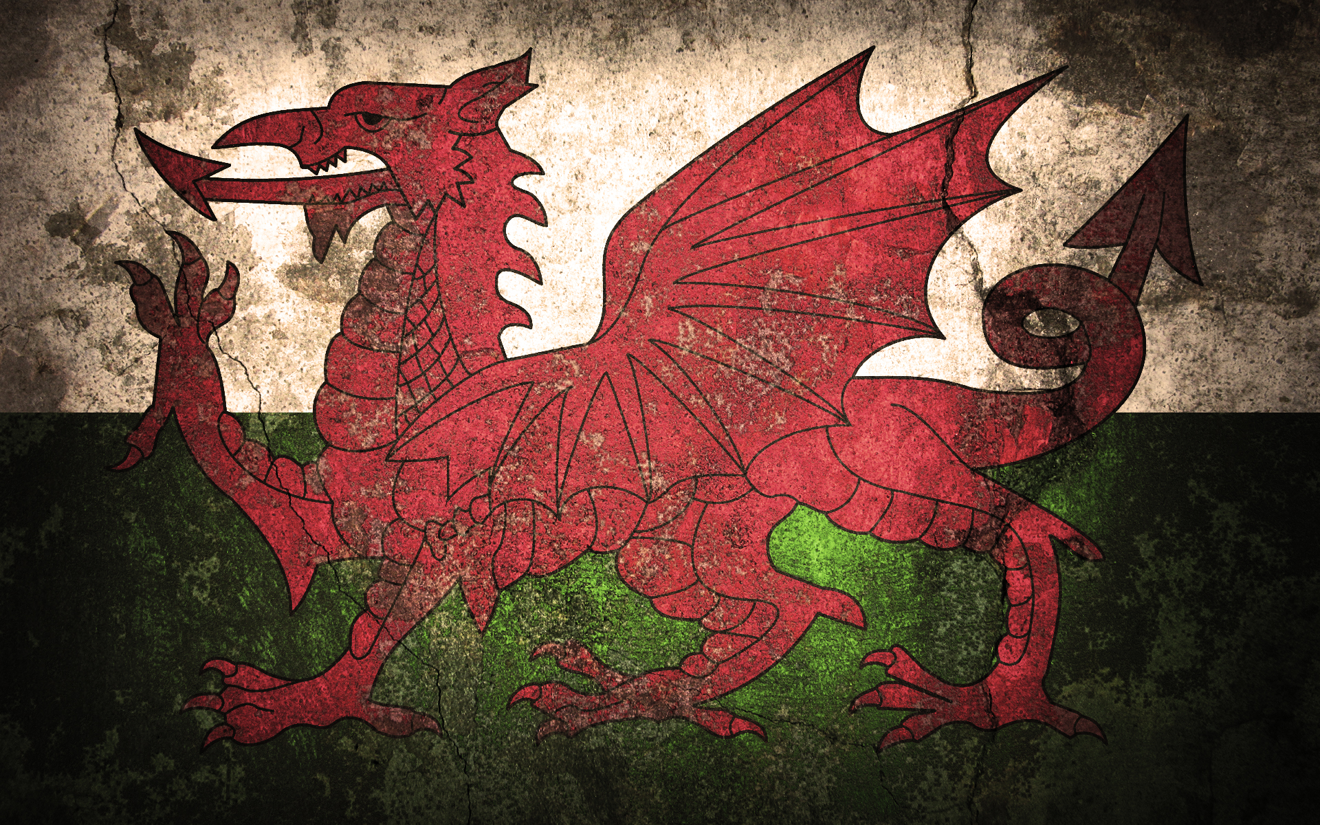 Download welsh flag just made this so ill HD Wallpaper General 1920x1200