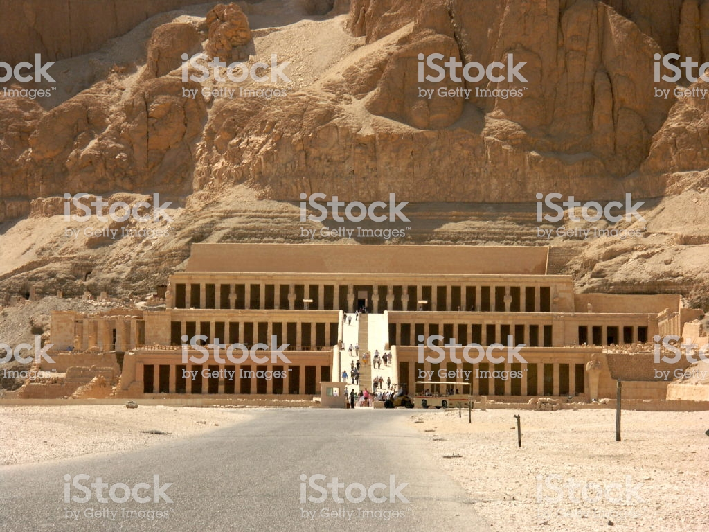 Ancient Ruins Of Queen Hatshepsut Temple In Luxor Egypt Stock 1024x768