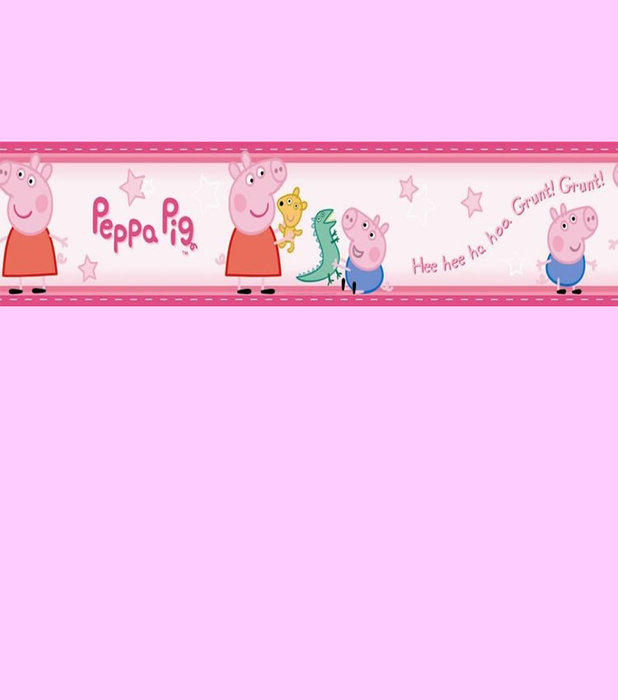 Childrens Rooms Peppa Pig Bedroom Peppa Pig Wallpaper Border 618x700