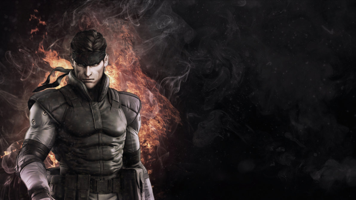 Solid Snake Wallpaper Full HD by DaRkLmX 1191x670