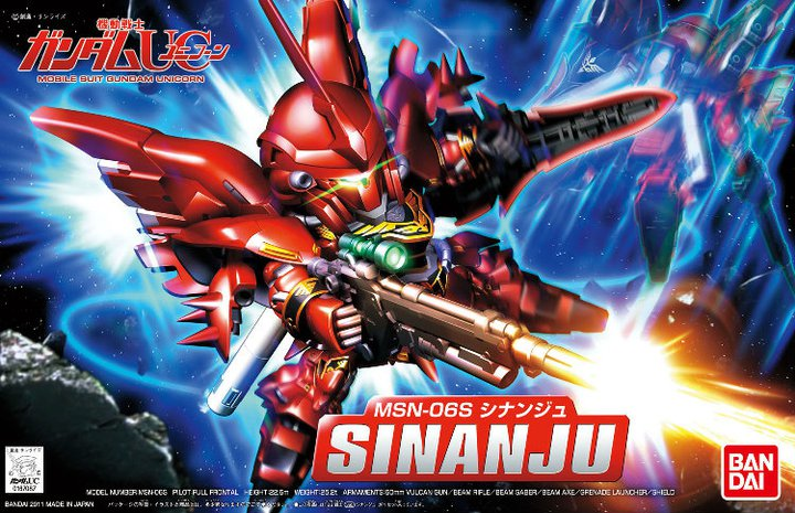 MSN 06S Sinanju some Wallpaper Size Images Links to buy it 720x465