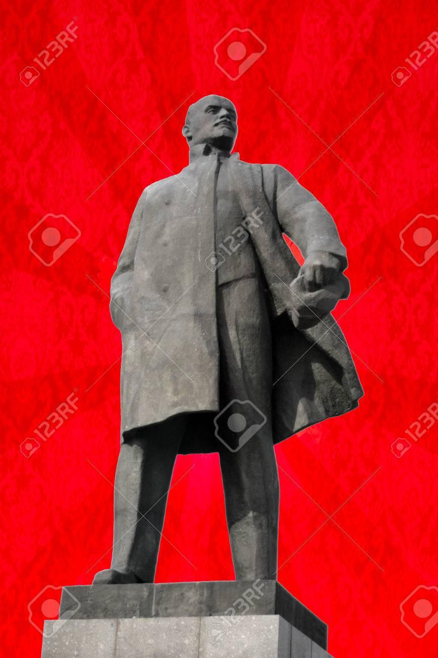 Monument To Vladimir Lenin   Leader Of The Russian Revolution 866x1300