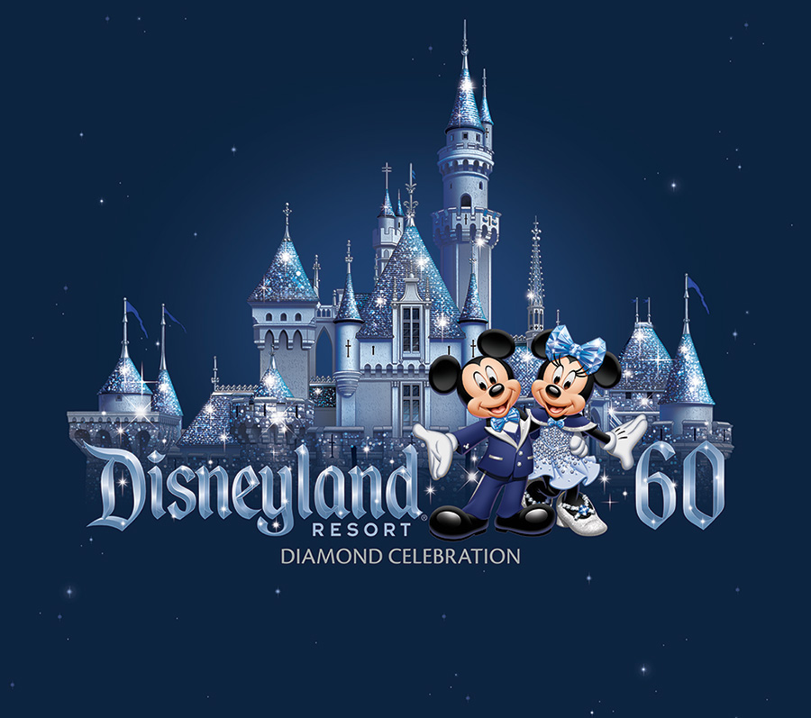 Disneyland Resort Diamond Celebration Merchandise Art Revealed 900x797