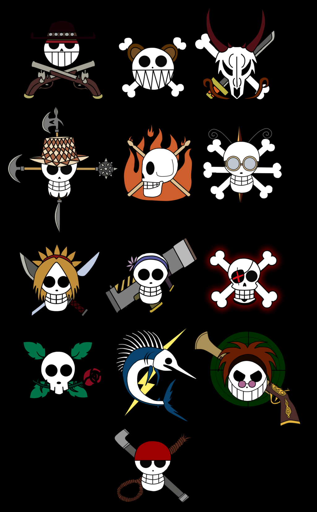 49 One Piece Jolly Roger Wallpaper On Wallpapersafari