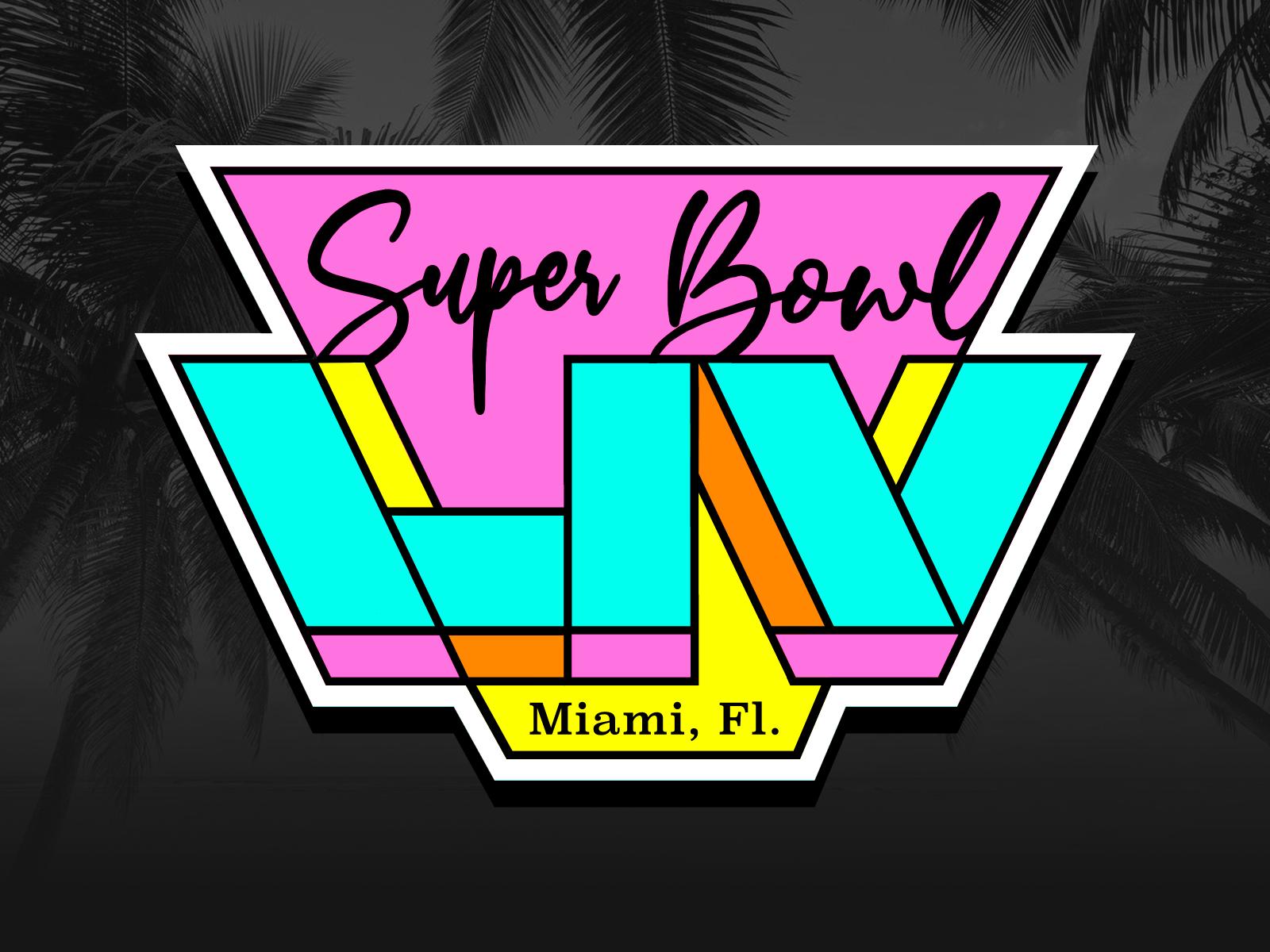 Super Bowl LIV Miami Concept by Victor Tony Costa on Dribbble 1600x1200