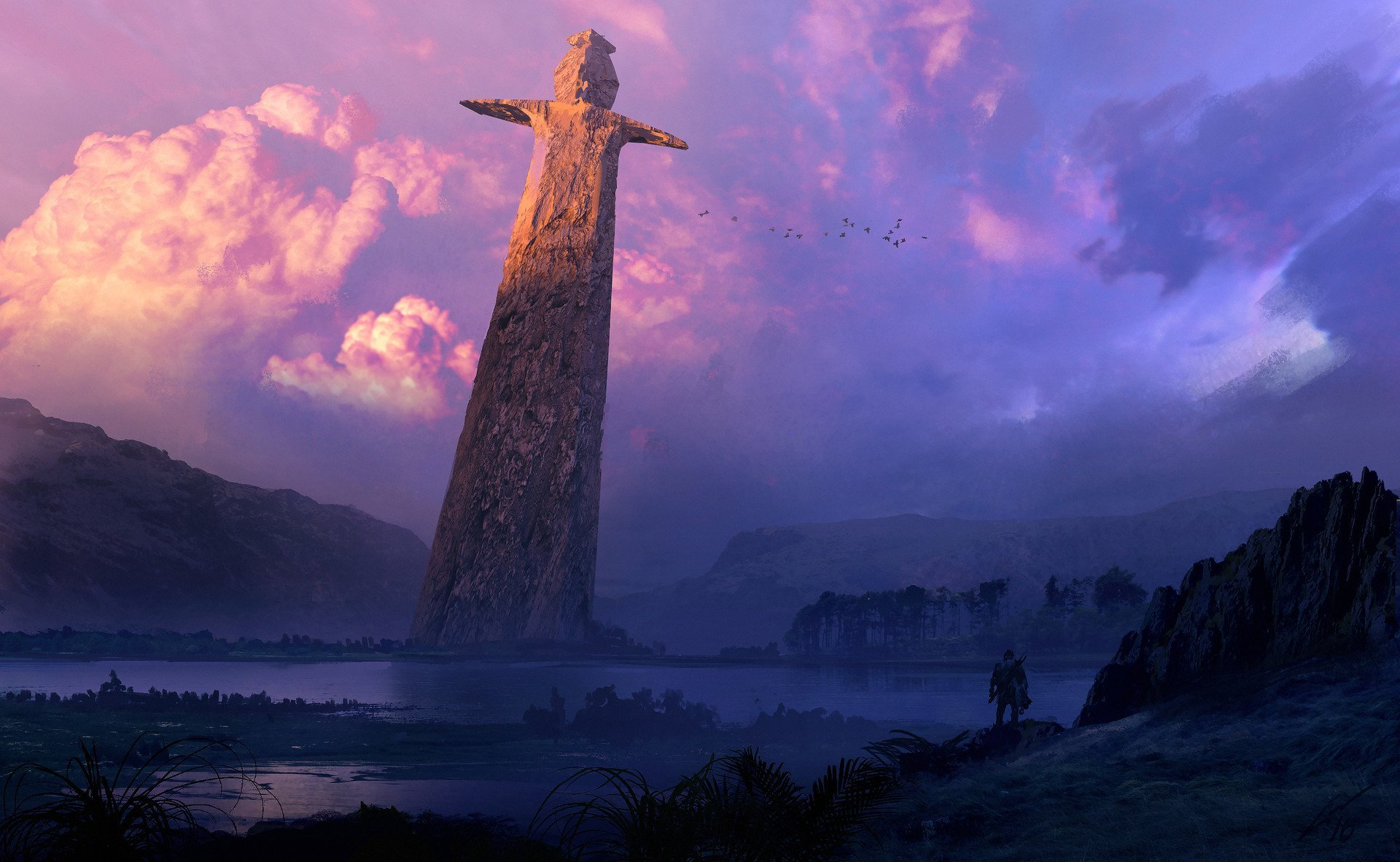 The Sword of The Unstoppable God HD Wallpaper Background Image 1920x1182