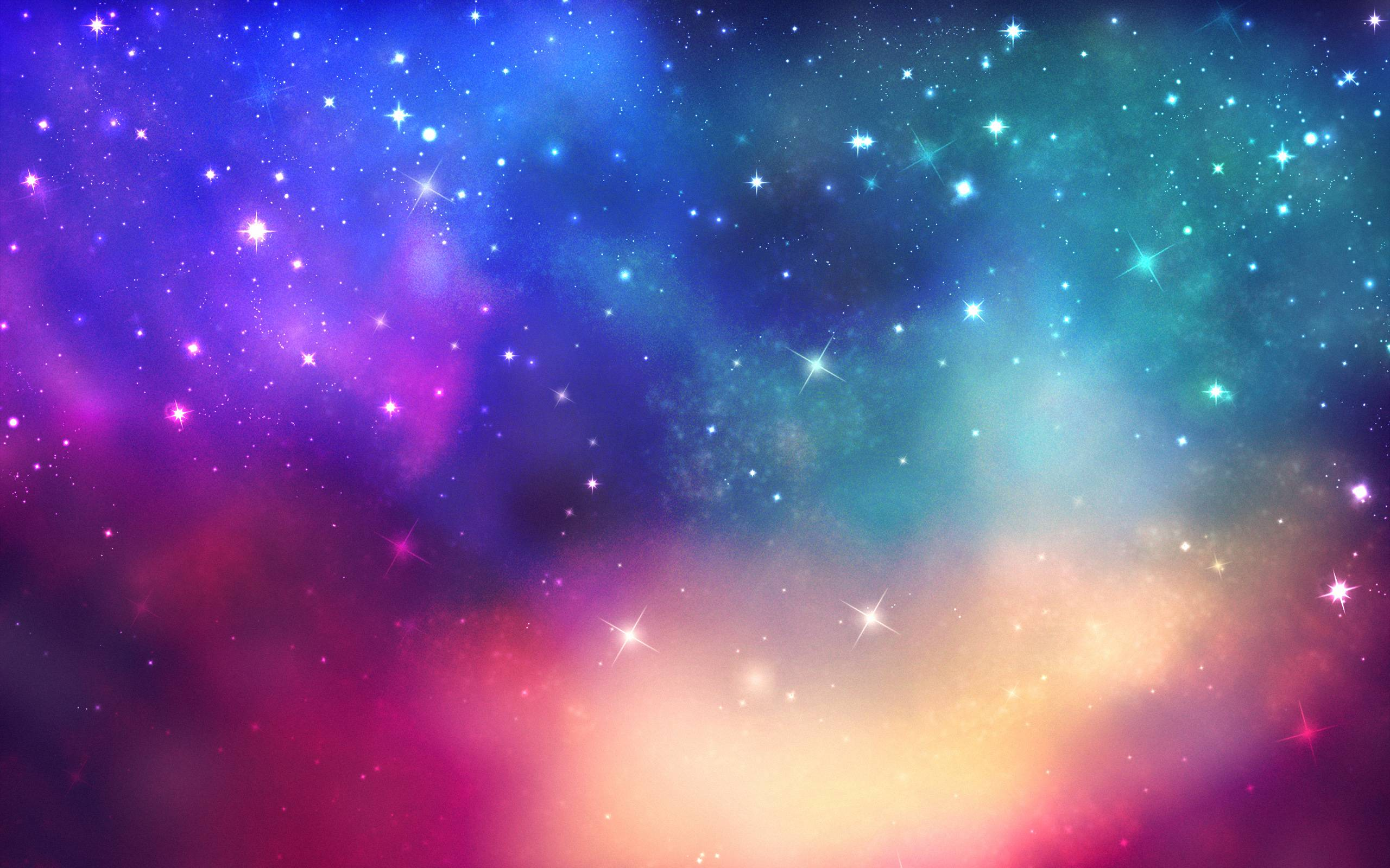 Space Star Backgrounds 2560x1600