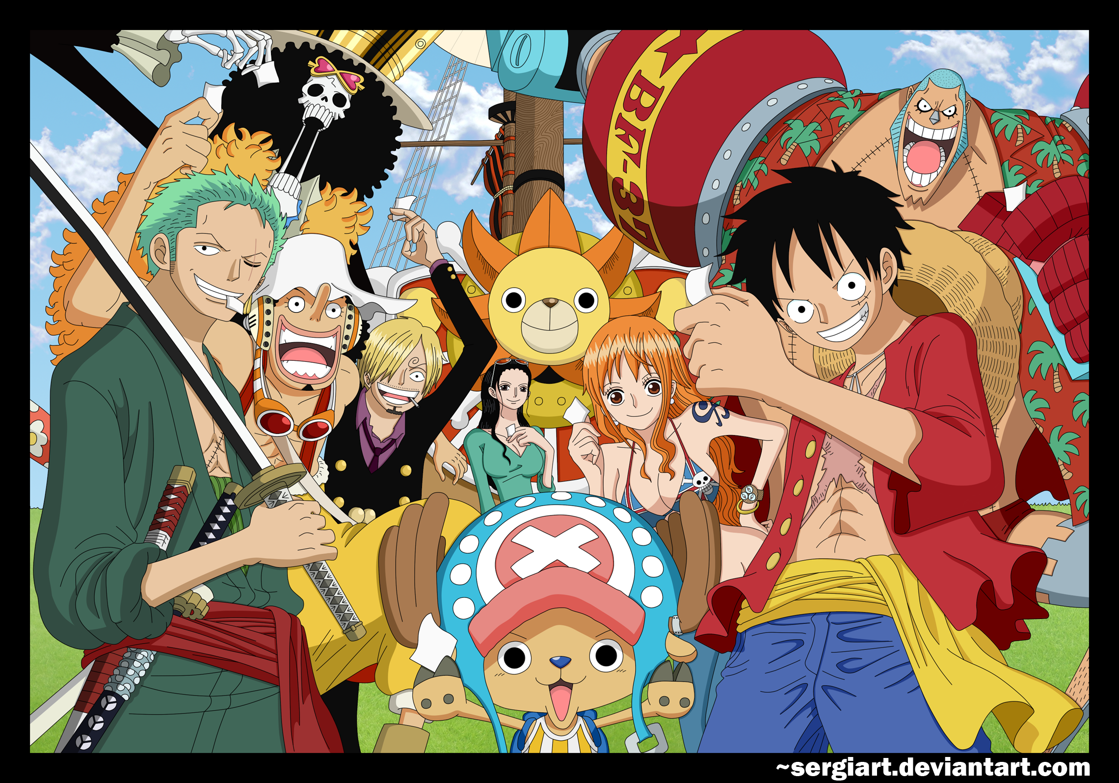 One Piece Crew Wallpaper - WallpaperSafari