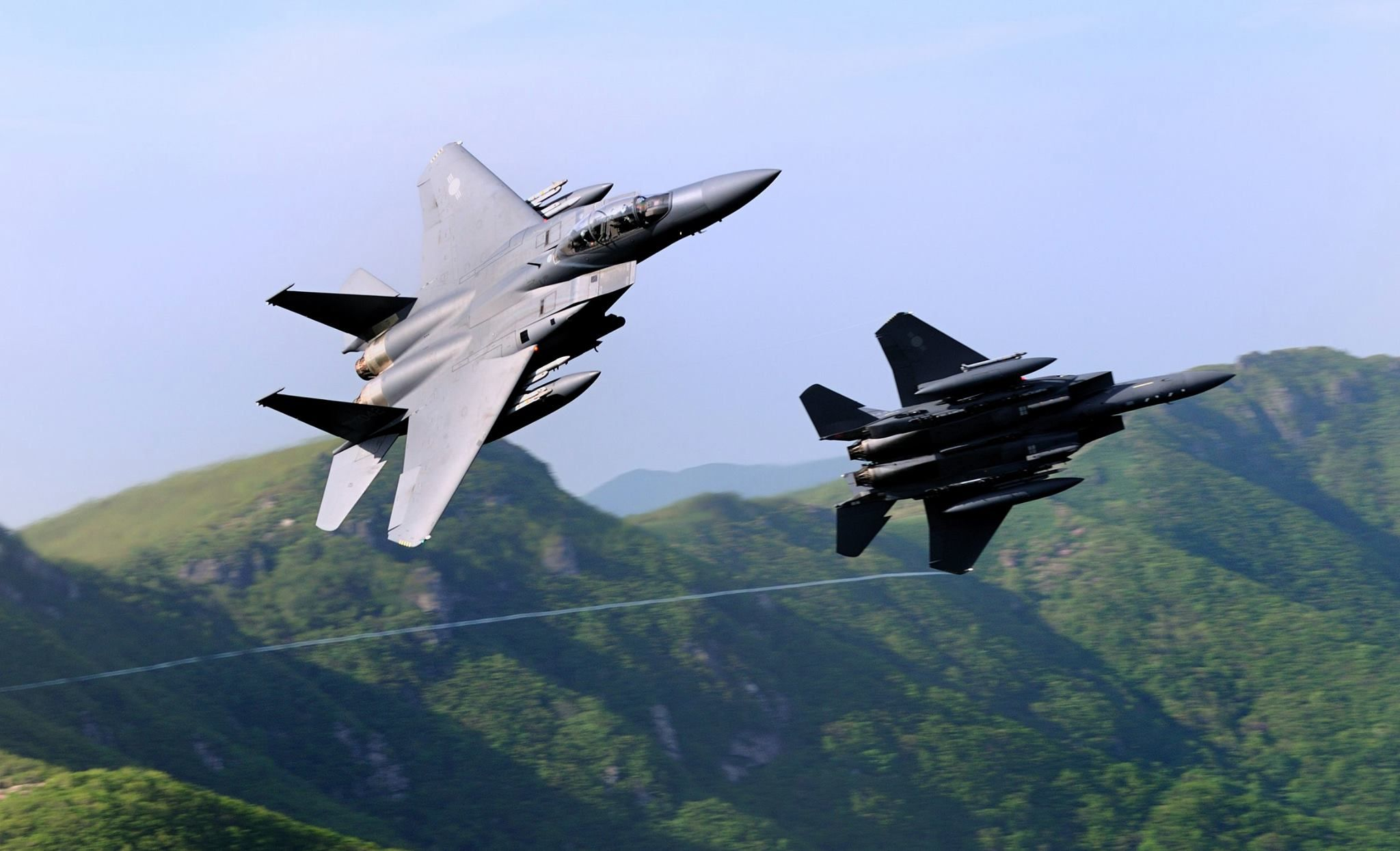 ROK Air Force F 15K Slam Eagles [2048 x 1245] wallpaper 2048x1245
