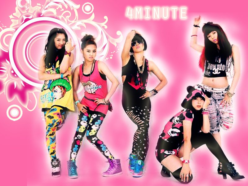 4minute shines   4 minute Wallpaper 10629410 800x600