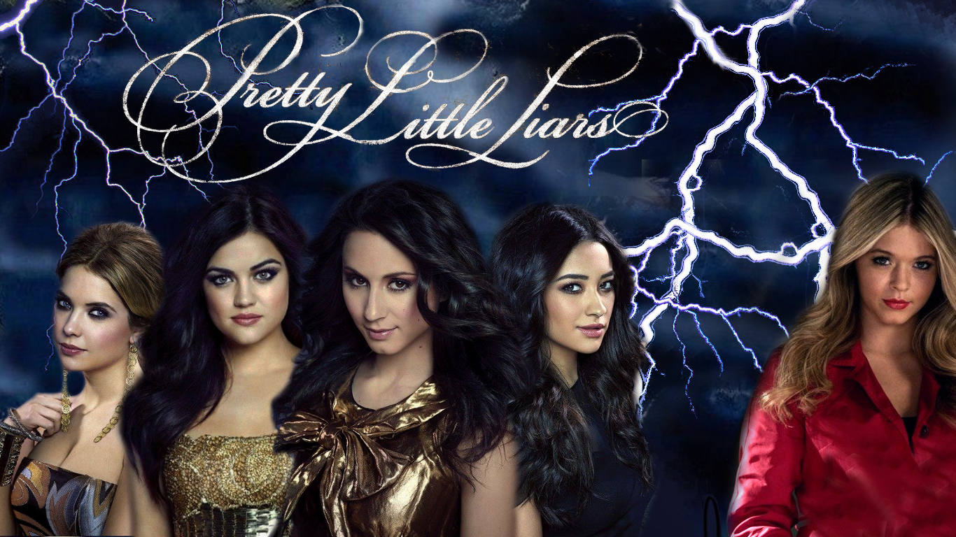 Pin Pretty Little Liars Wallpapershq Wallpapers Plus on 1366x768