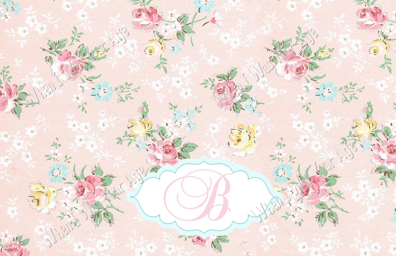 Shabby Chic Vintage Rose Wallpaper 1500 x 971 430 kB jpeg 1500x971