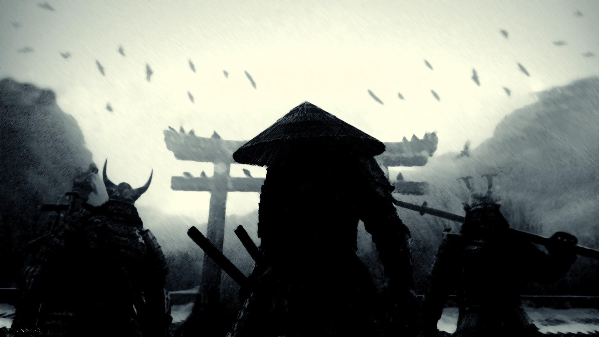 Samurai warriors   Sucker Punch Wallpaper 6891 1920x1080