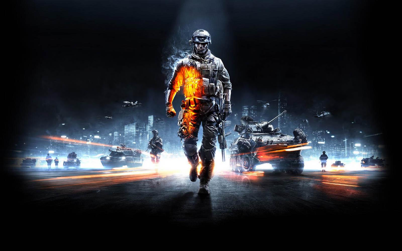 image screensaver Battlefield 3 Game Desktop Wallpapers 1600x1000