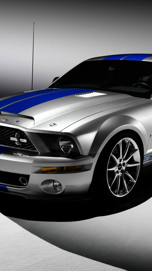 Ford Shelby Mustang GT500 iPhone 6 6 Plus and iPhone 54 Wallpapers 640x1136