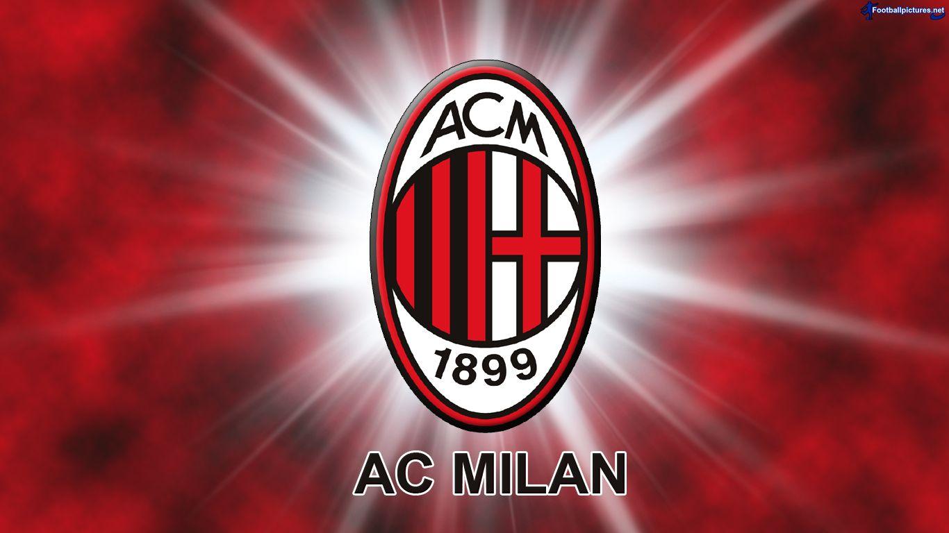Logo Ac Milan Wallpapers 2015 1366x768