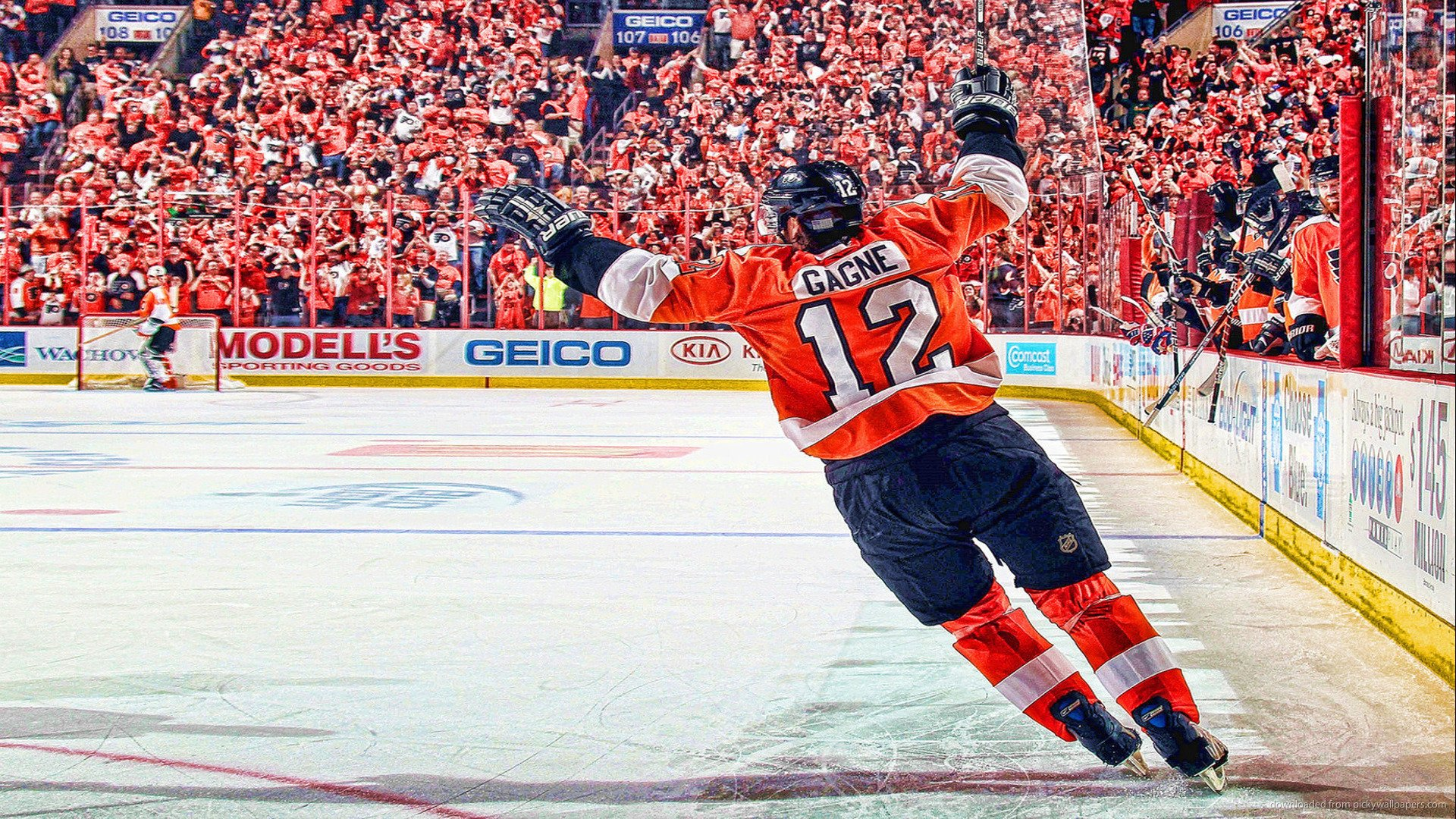 PHILADELPHIA FLYERS nhl hockey 17 wallpaper background 1920x1080