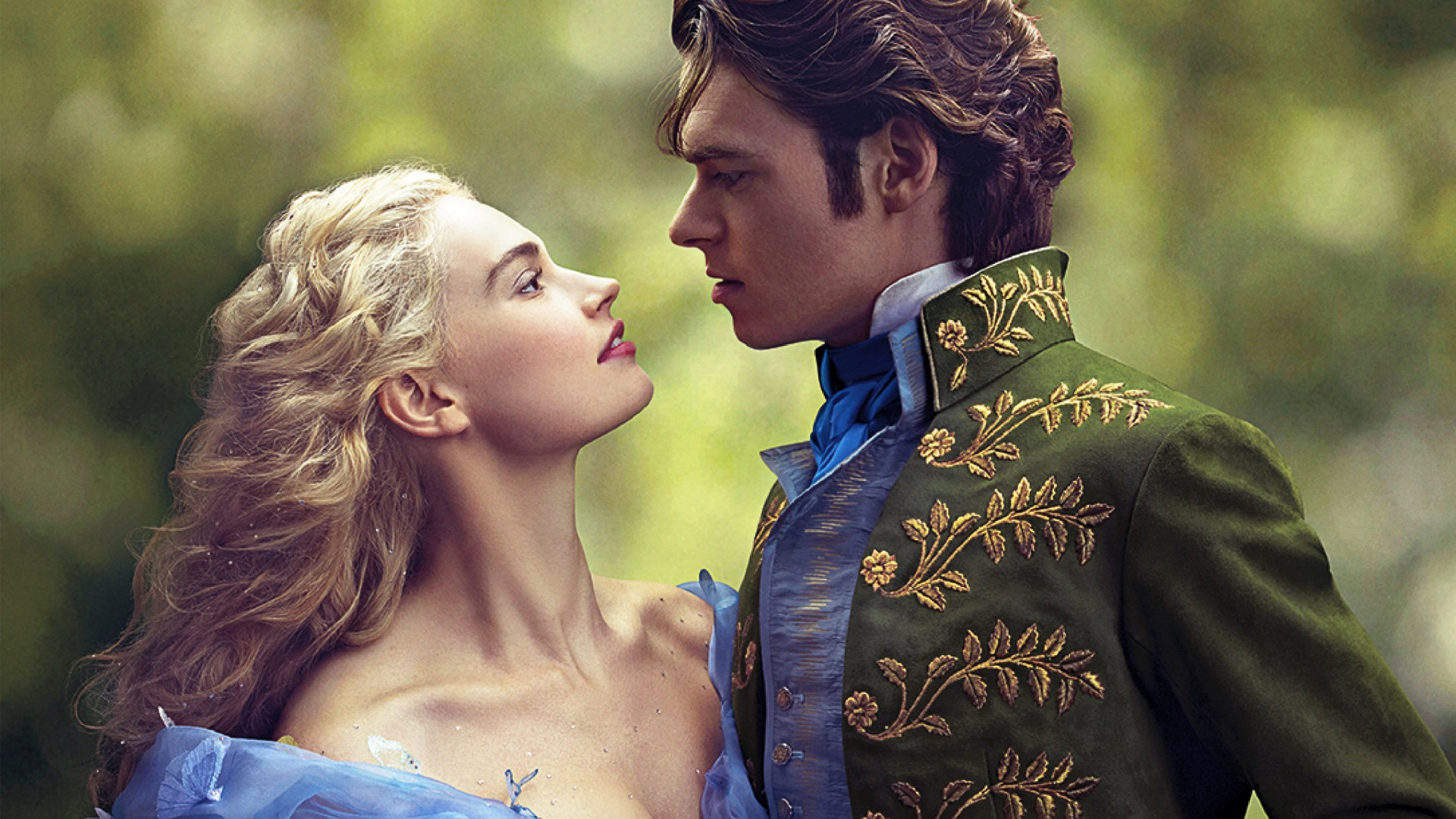 Download Lily James And Richard Madden In Cinderella HD Wallpaper 1920x1080