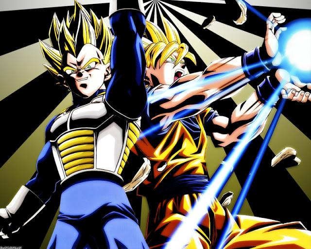 Vegeta SS1 Goku SS1   Dragon Ball Z Photo 33086204 640x512