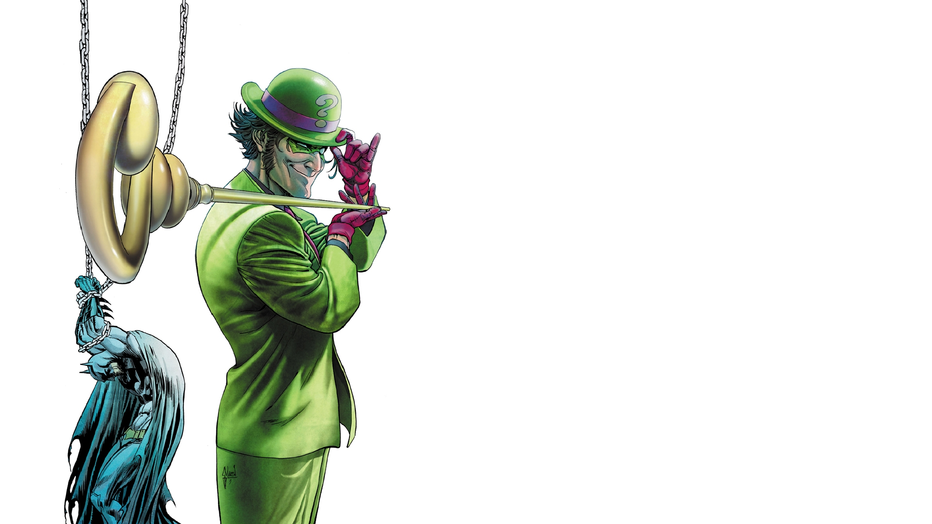 The Riddler Wallpaper Comics   the riddler 1920x1080