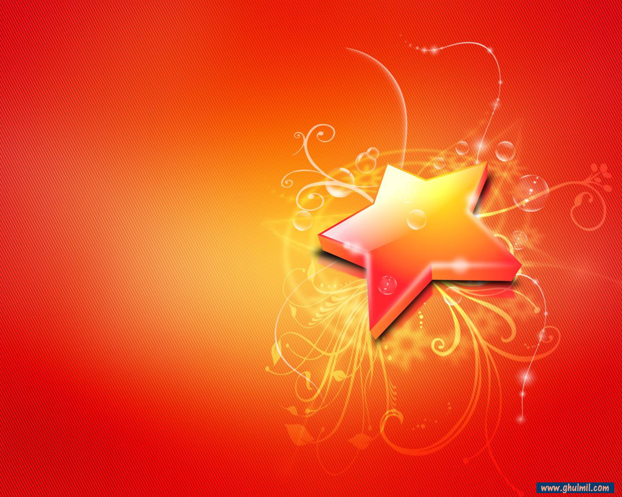 3d very beautiful hd quality star wallpaper for laptops background E 1280x1024