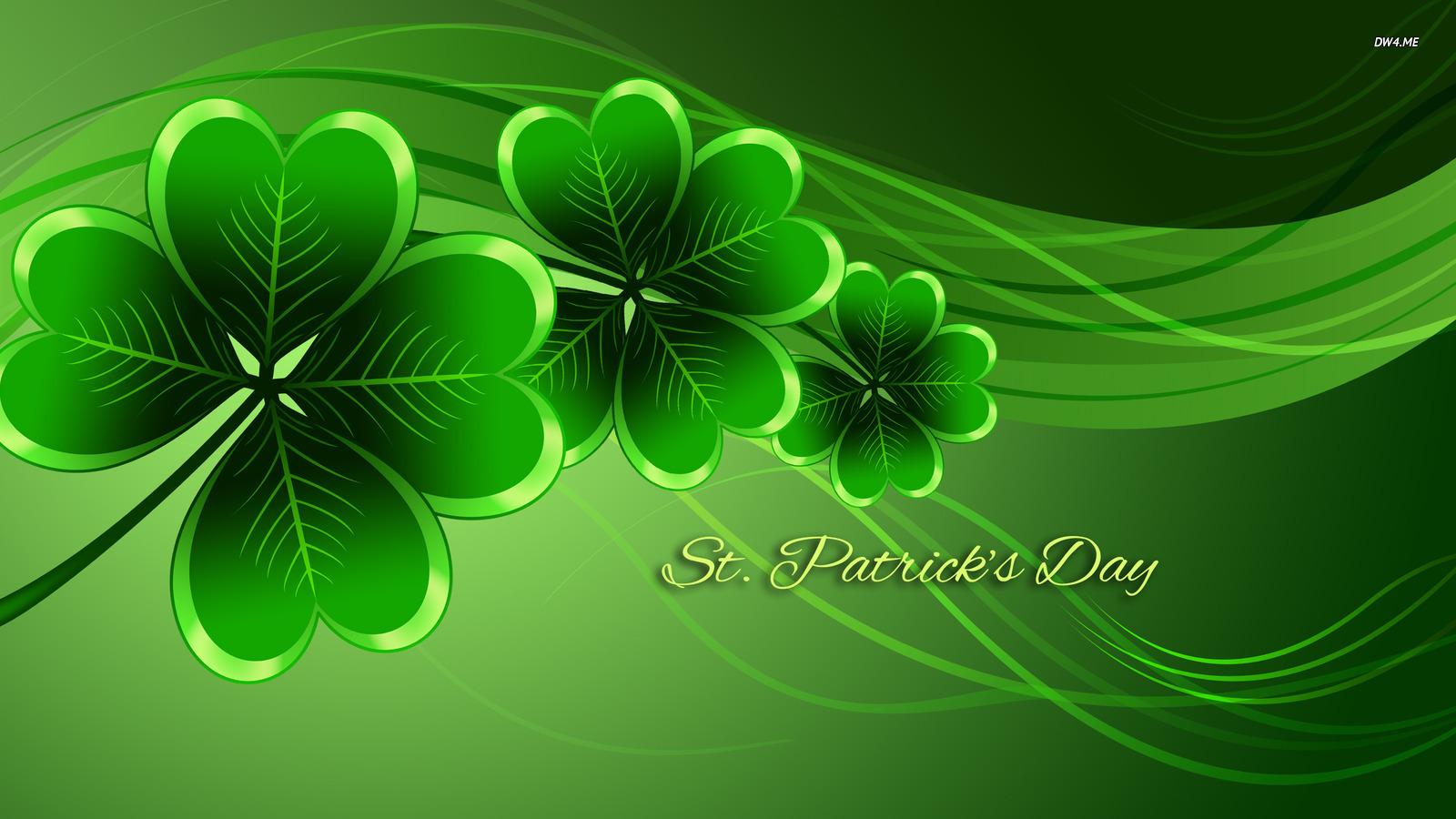 Download Saint Patricks Day wallpaper Holiday wallpapers 2159 1600x900