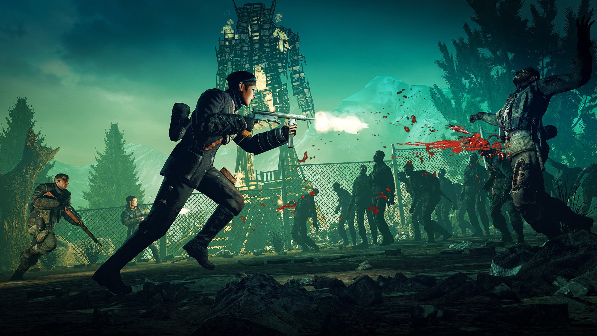 Sniper Elite Nazi Zombie Army Computer Wallpapers Desktop 1920x1080