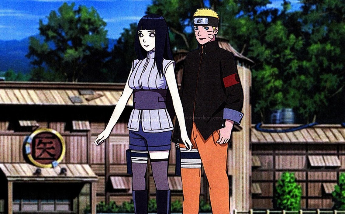 Naruto and Hinata The Last Wallpaper by weissdrum 1135x704