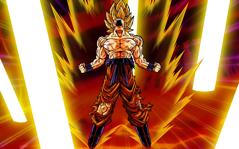 Son Goku Wallpaper 1440x900 Son Goku Dragon Ball Z 1440x900