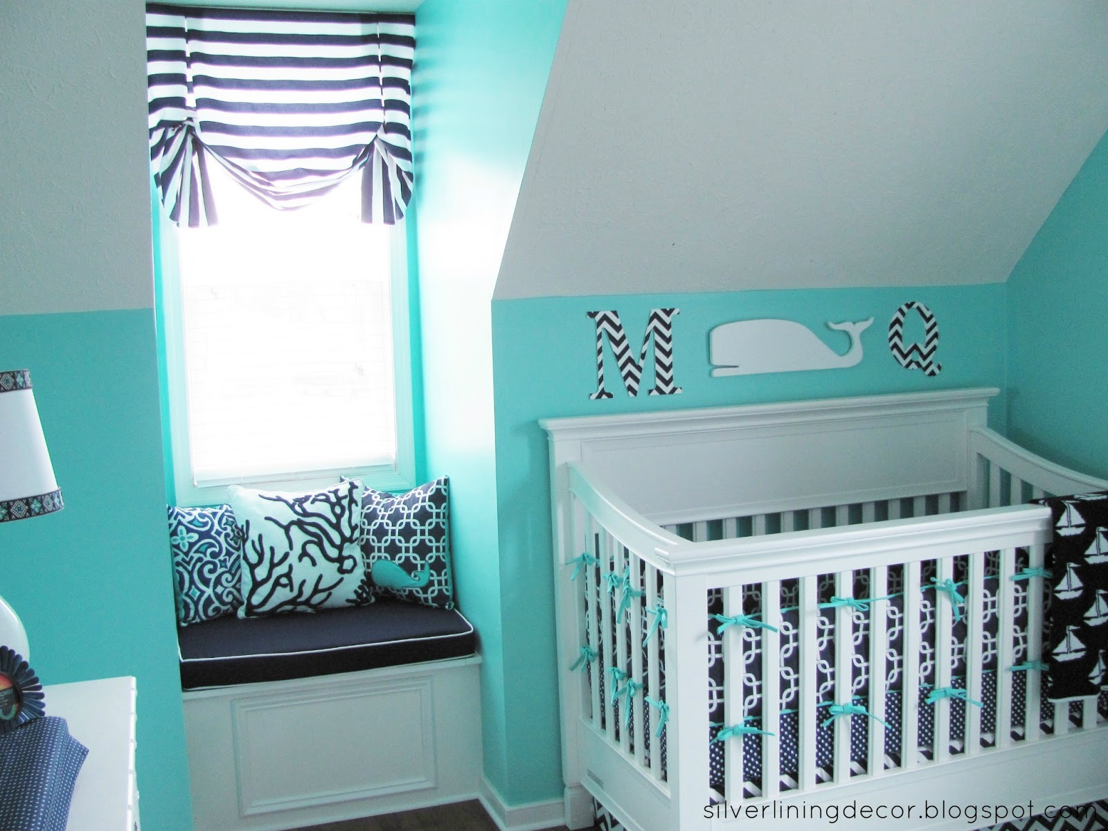 Boys Nursery Wallpaper: Baby Boy Nursery Wallpaper