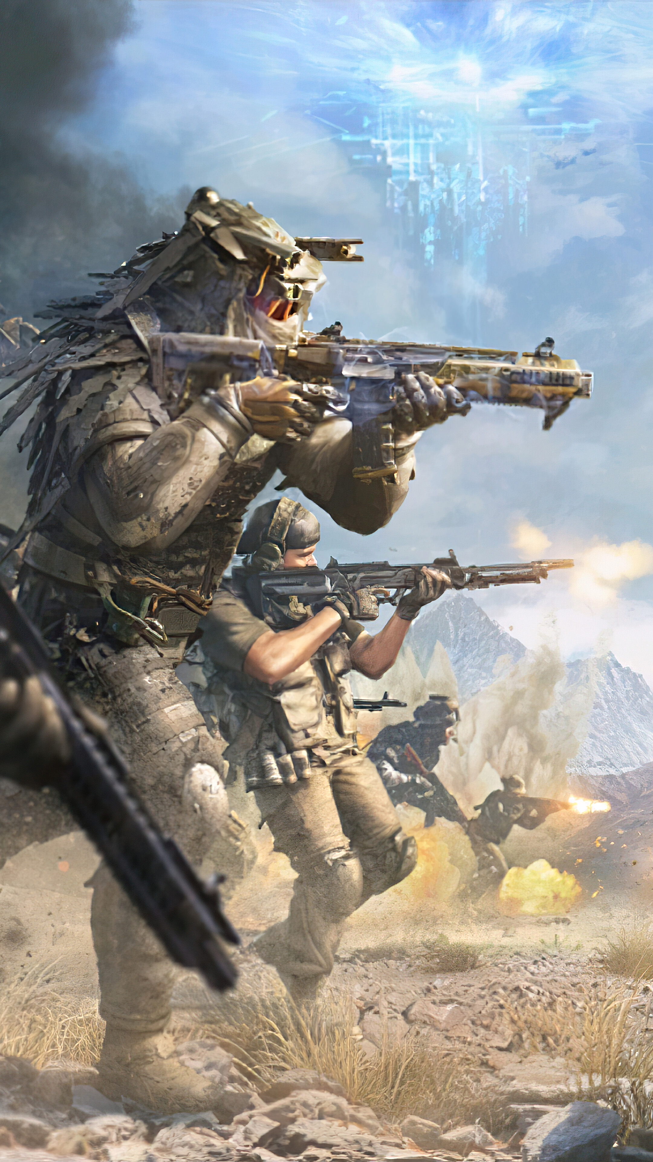 323044 Call of Duty Mobile Team Battle 4K Iphone 1076s6 HD 2160x3840