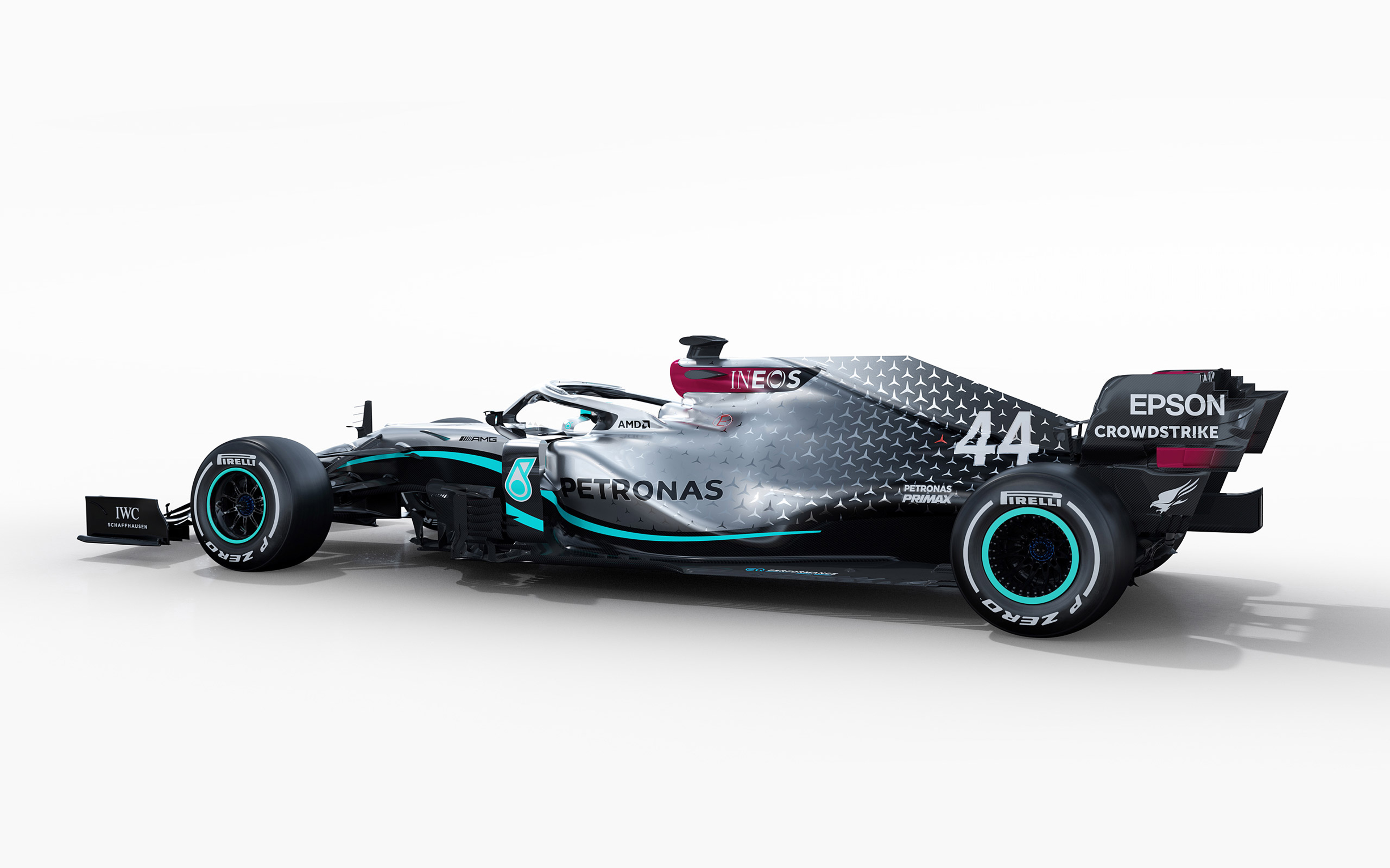 Download wallpapers Mercedes AMG F1 W11 EQ Performance 2020 3840x2400