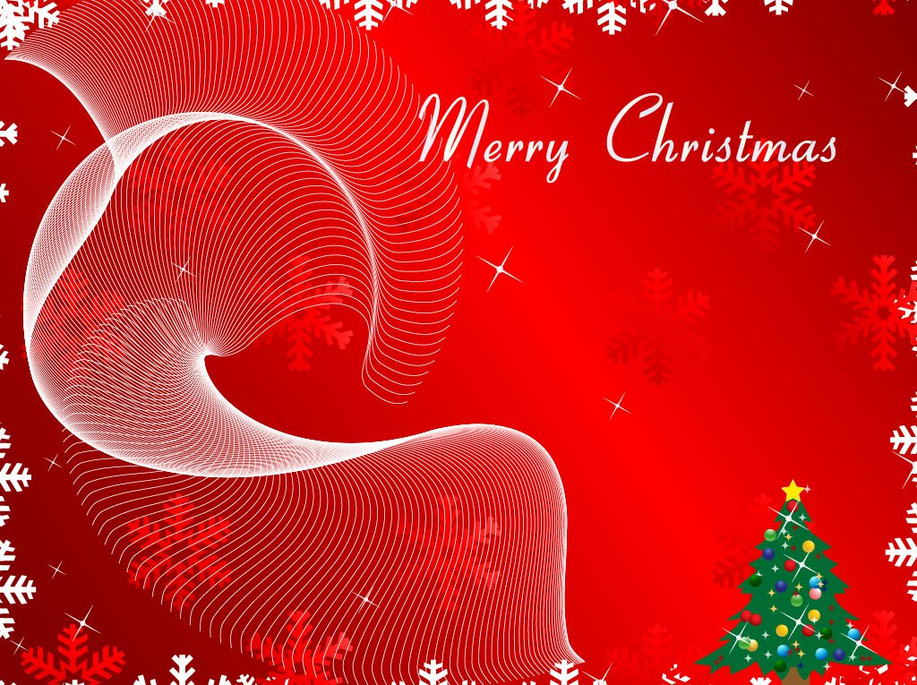 Christmas Party Invitation Background 1024x765
