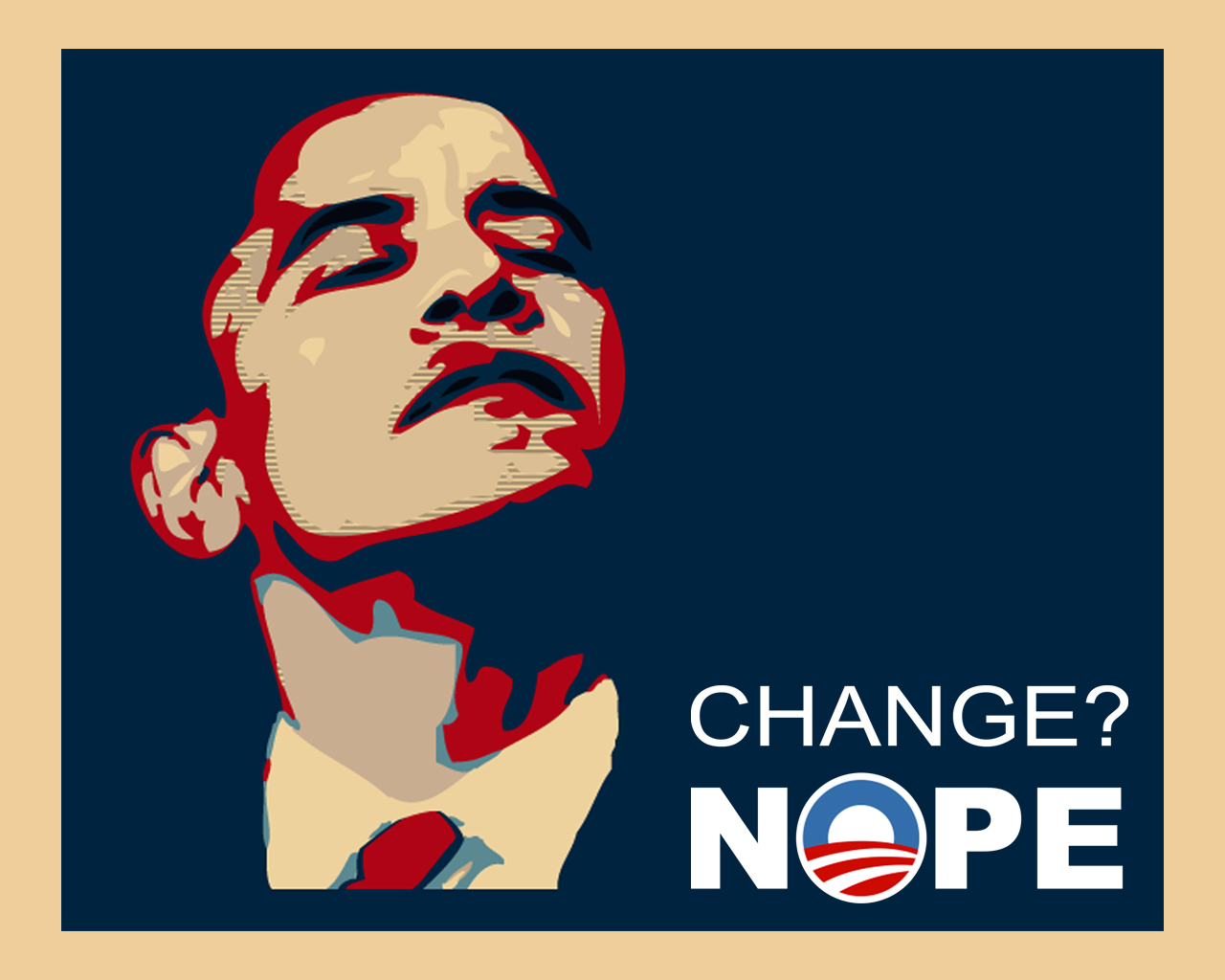 Anti Obama Wallpaper 1280x1024