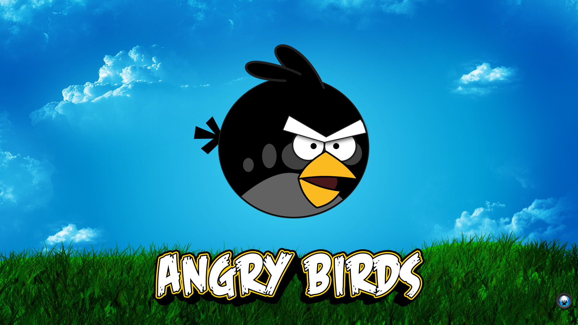 Green angry bird wallpaper