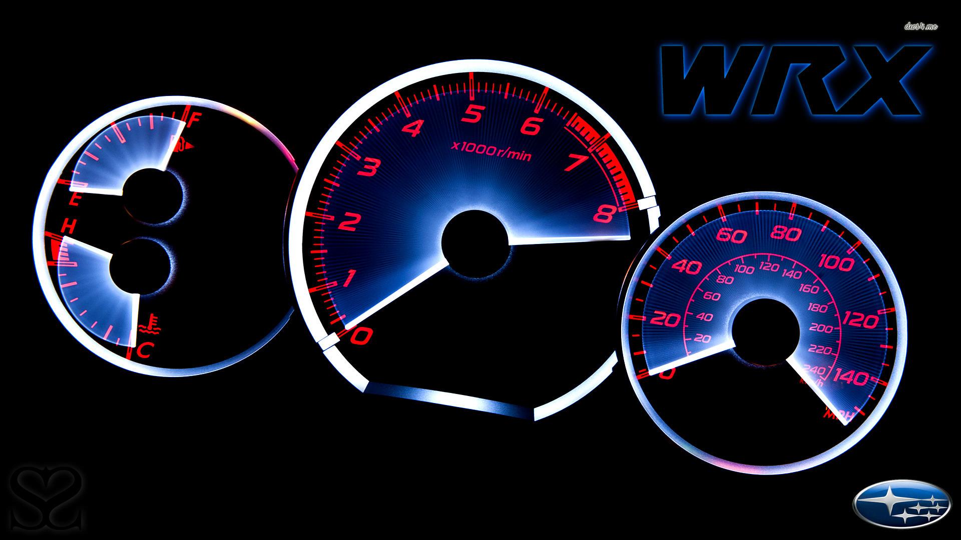 Subaru Impreza WRX gauges wallpaper 1280x800 Subaru Impreza WRX gauges 1920x1080