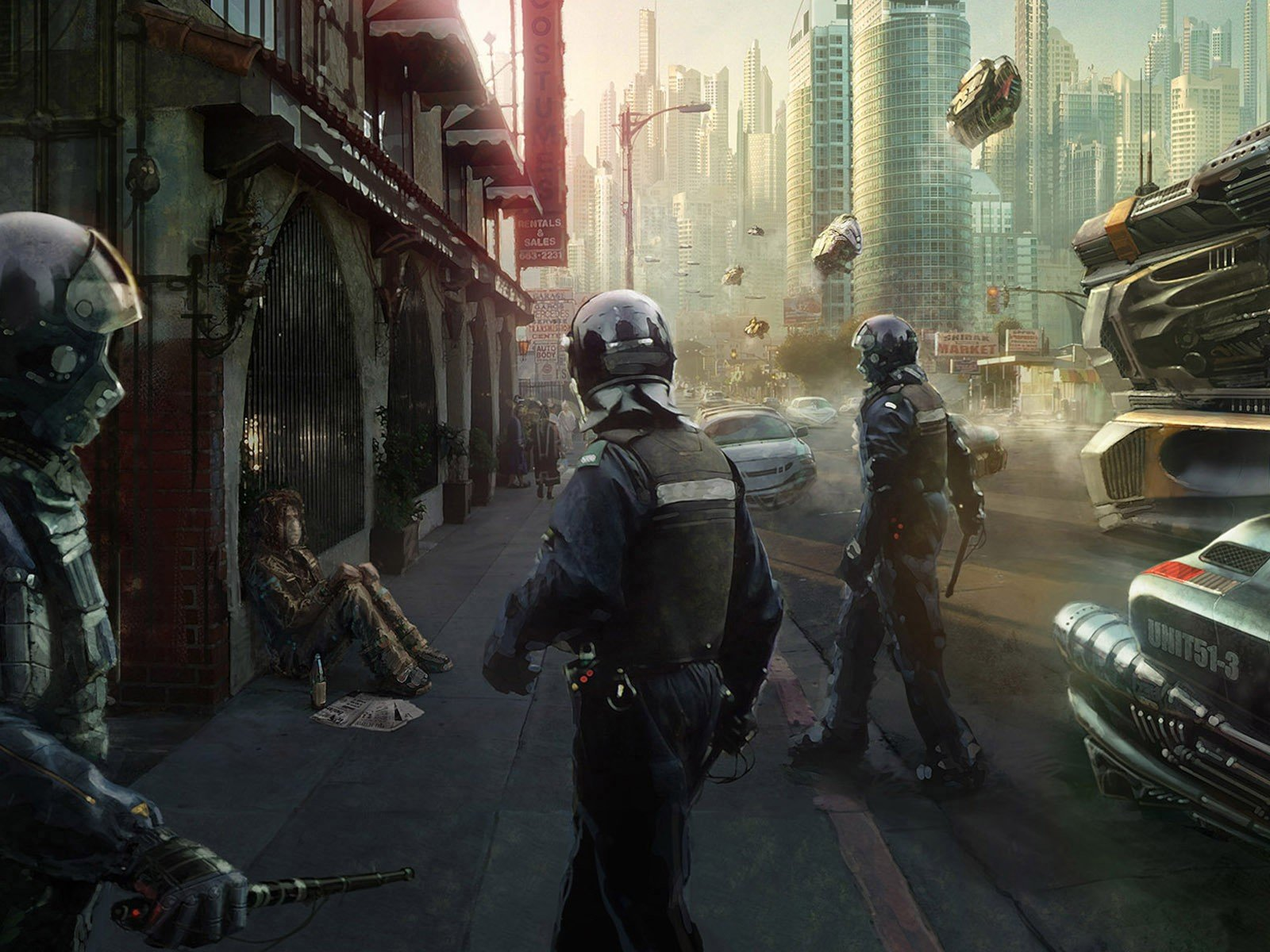dystopian Wallpapers HD Desktop and Mobile Backgrounds 1600x1200