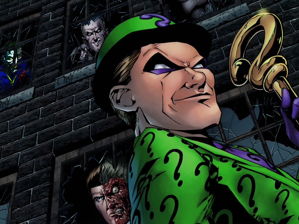 The Riddler Wallpapers   1024x768   292349 1024x768